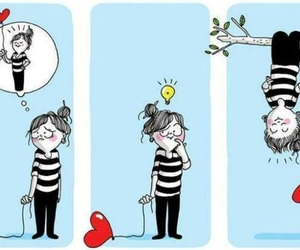 girl, ballons, and pff image