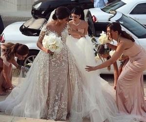 girl, wedding, and makeup image