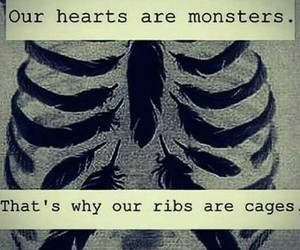quotes, monster, and cage image