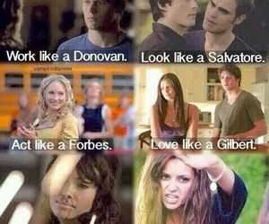 the vampire diaries, tvd, and salvatore image