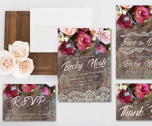 etsy, rsvp, and rustic wedding image
