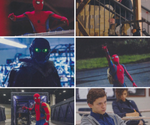 homecoming, spiderman, and peter parker image