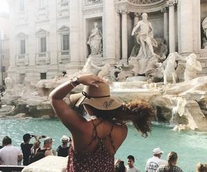 city, italy, and roma image