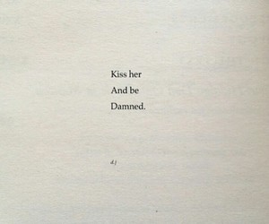 kiss, poem, and poetry image