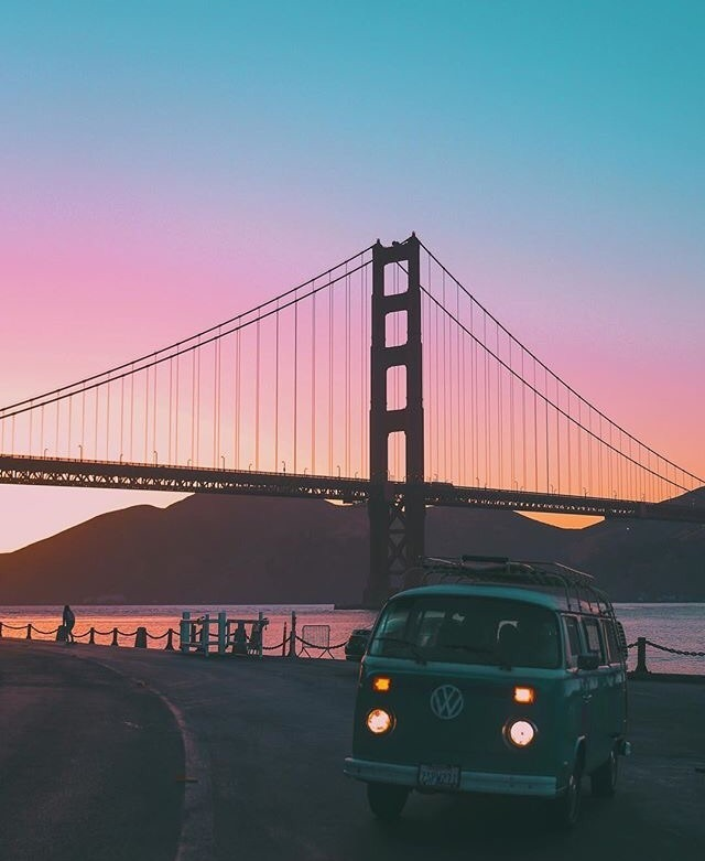 adventure and sunset image