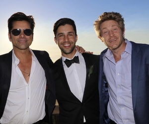 Josh Peck, john stamos, and david dobrik image