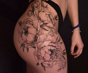 beautiful, tattoo, and hip image