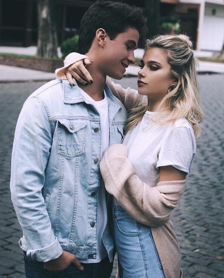 couple, valentina zenere, and michael ronda image