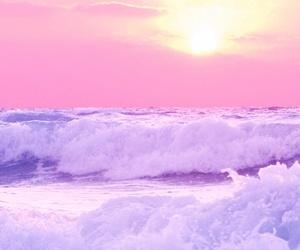 beautiful, pastel, and purple image