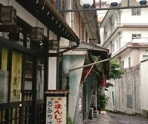 hotel, japan, and onsen image