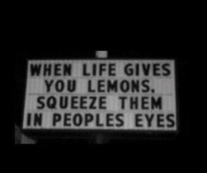 lemons, black, and people image