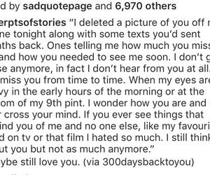break up, heart break, and i still love you image