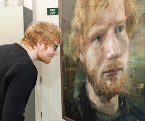 ed sheeran, ed, and art image