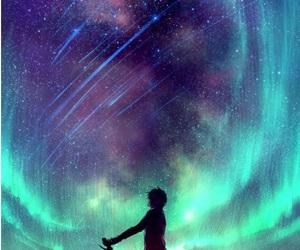 art, beautiful, and stars image