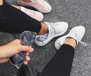 fashion, shoes, and friends image