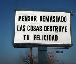 frases, felicidad, and español image