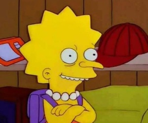 simpsons, funny, and lisa image