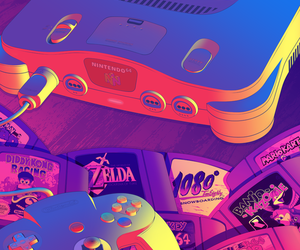 childhood, mario, and gaming image