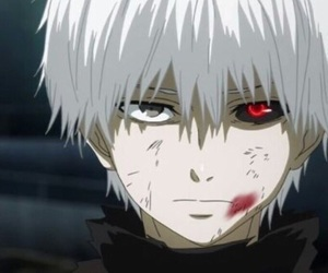 anime, anime boy, and kaneki ken image