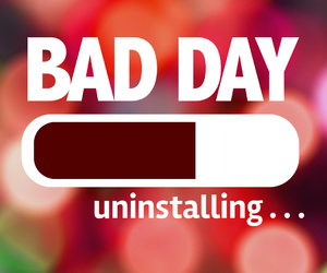 How To Deal With Bad Days