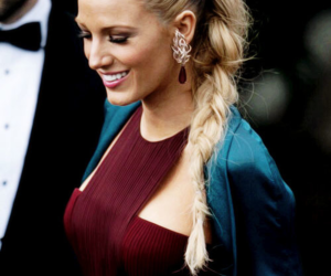 blake lively, gossip girl, and hair image