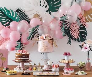 party, summer, and decoration image
