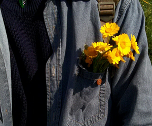 boy, flower, and tumblr image