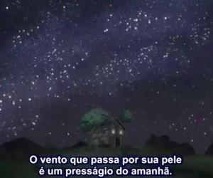 anime, frase, and night image