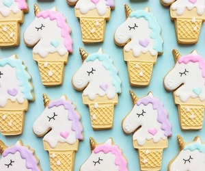 unicorn, Cookies, and food image
