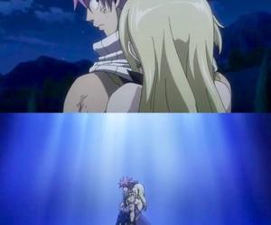 anime, Lucy, and nalu image