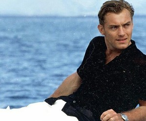jude law and sea image