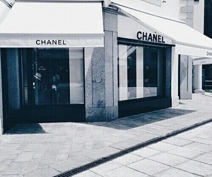 chanel, blue, and white image