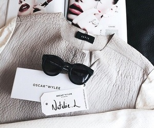 beauty, sunglasses, and trendy image