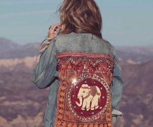 california, elephant, and fashion image