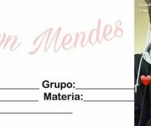 school, shawn, and mendes image
