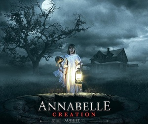 film, movie, and annabelle creation image