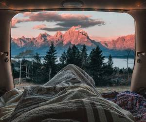 mountains, beautiful, and travel image