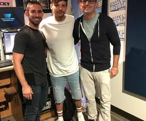 beautiful, louis tomlinson, and one direction image