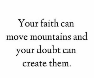 faith, quote, and god image
