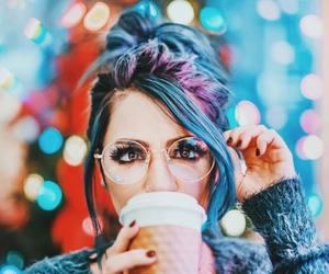 niki, glasses, and photography image
