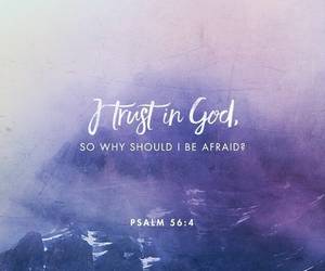 god, bible, and trust image