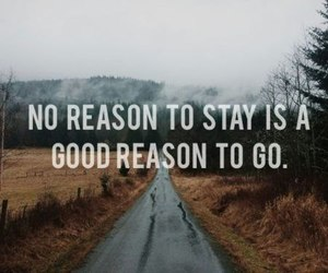 quote, go, and reason image