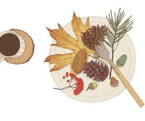 autumn, breakfast, and loveit image