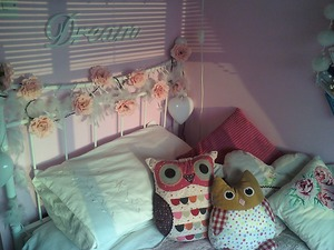 bed, cushions, and Dream image