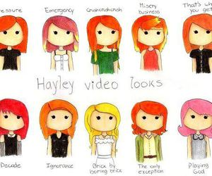 hayley williams, paramore, and hayley's hair image