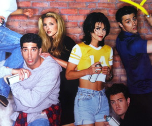friends, f.r.i.e.n.d.s, and rachel image