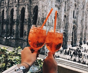Cocktails, drinking, and italy image