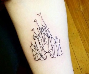 tattoo, disney, and cool image