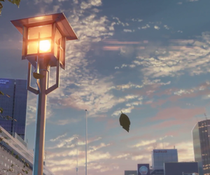 anime, scenery, and kimi no na wa image