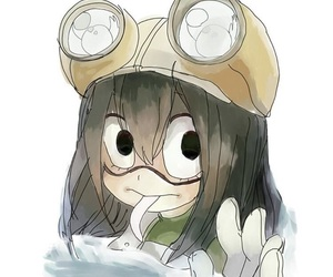 boku no hero academia and tsuyu image